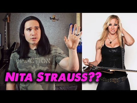 What's the deal with Nita Strauss??