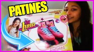 LOS PATINES DE SOY LUNA!!