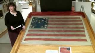 A Look Back: Civil War Flag, Rice County
