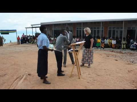 A clip from the Kivu Hills Students representative on the Kivu Hills Academy First phase dedication