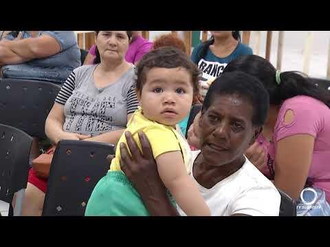 Encontro reúne famílias do programa Criança Feliz