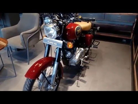 Royal Enfield Classic 350:Chestnut(walkaround)