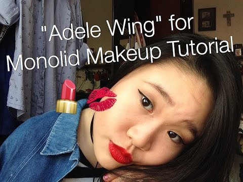 """Adele Wing"" -  ""Grunge Babe"" For Monolid Makeup Tutorial Ft. Maybelline // Booitsmichelle"