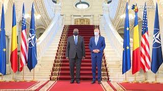 Preşedintele Iohannis a vorbit cu secretarul american al Apărării, Lloyd J. Austin