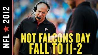 Falcons vs Panthers 2012: Atlanta Caught off Guard by Carolina, Falls to 11-2 with 30-20 Road Loss