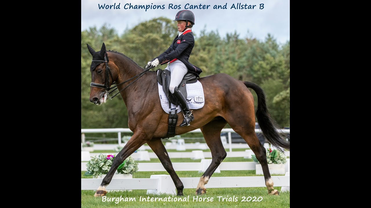 World Champions Ros Canter and Allstar B winning the CCI-S 4* at Burgham