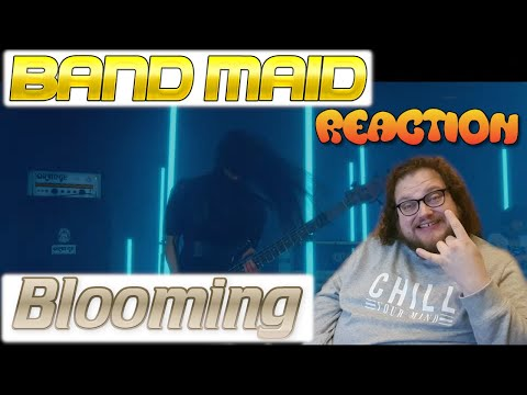 BAND-MAID reaction - Blooming - New Music Video - Maybe I shouldn't recorded it in this state...