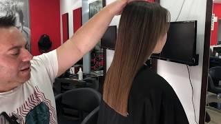 Como cortar el pelo corte recto