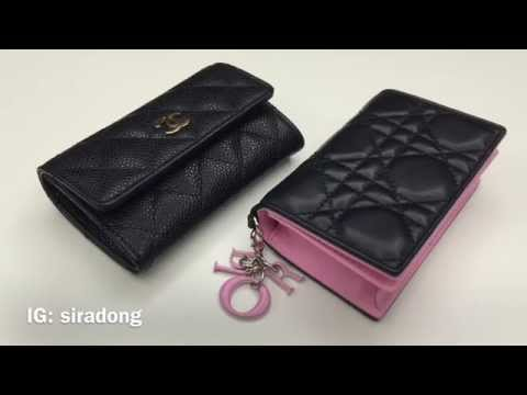 Comparison review: Chanel & Dior Card Case