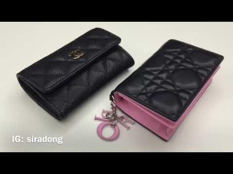 Comparison review: Chanel & Dior Card Case