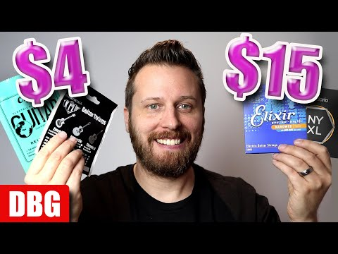 Cheap vs Expensive Strings! - Will They *REALLY* Change Your Tone?