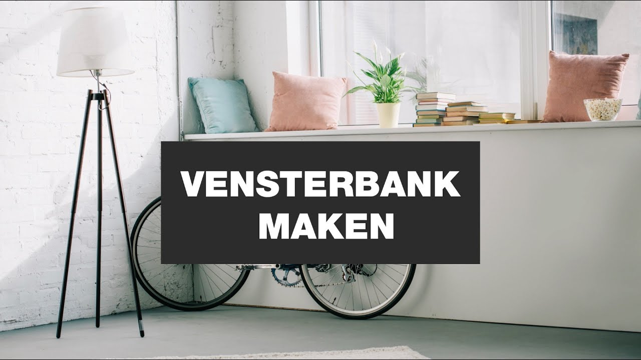 Radiatorbekleding en vensterbank in één