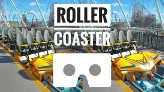 Rollercoaster POV Google Cardboard VR Box Super Fast Ride Planet Coaster video not 360