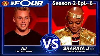 Sharaya J vs AJ Reynolds Rappers Battle The Four Season 2 Ep. 6 S2E6
