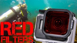Red Filters Diving with your GoPro