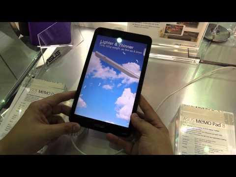 Asus Memo Pad 8 günstiges 8-Zoll Tablet im Hands On Video