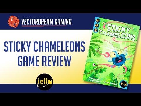 Sticky Chameleons Review
