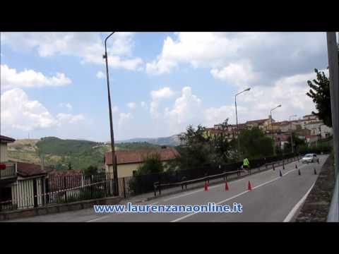 Preview video Video gara automobilistica slalom 12° trofeo Città di Laurenzana campionato Puglia e Basilicata Laurenzana 26 giugno 2016