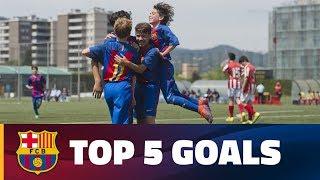 FCB Masia-Academy: Top goals 20-21 May