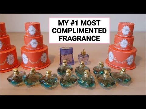 #1 MOST COMPLIMENTED PERFUME | L de Lolita Lempicka Review + Perfume Haul