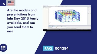 FAQ 004284 | Are the models and presentations from Info Day 2015 freely available, and can you se...