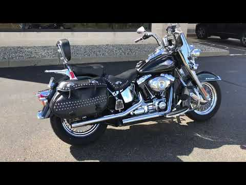 2009 Harley-Davidson FLSTC Heritage Softail® Classic in North Canton, Ohio - Video 1
