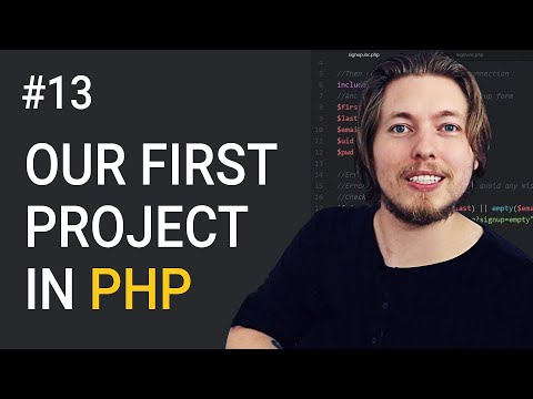 13: Our First PHP Project! | Procedural PHP Tutorial For Beginners | PHP Tutorial | mmtuts