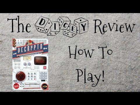 Decrypto: A Dicey Walkthrough!