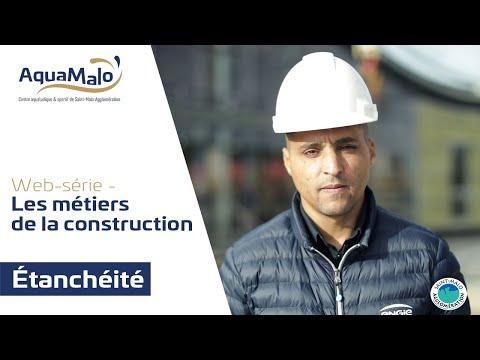 Les métiers de la construction d'AquaMalo : L'étanchéité