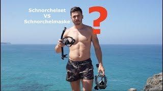 Schnorcheltipps - Schnorchelmaske VS Tauchbrille - Geheimer Schnorchelplatz - (Schnorchelbrille)