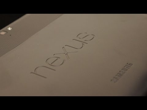Google Nexus 10 Tablet Unboxing Test deutsch