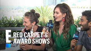 Dominique Provost-Chalkley Asks Katherine Barrell a Sexy Question | E! Red Carpet & Award Shows
