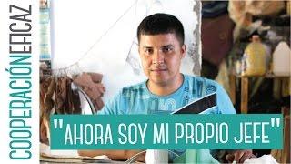 José Armando tiene ganas de aprender más - Cooperación Eficaz