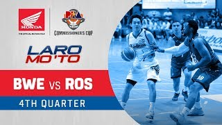 Blackwater vs. Rain or Shine – Q4 | PBA Commissioner's Cup 2018