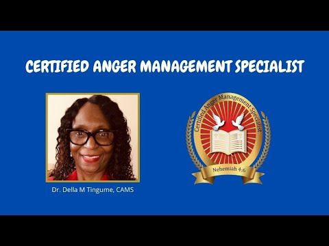 Certified Anger Management Specialist - YouTube