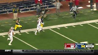 Michigan Scoring Drive vs. Wisconsin | Big Ten Football