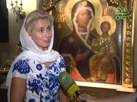 Уникальная икона прп. Сергия Радонежского
