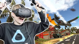 AIR TRAFFIC CONTROL IN VR! | Final Approach (HTC Vive Gameplay)
