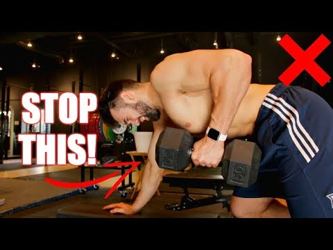 How to PROPERLY Dumbbell Row   3 Dumbbell Row Variations for Muscle Gain