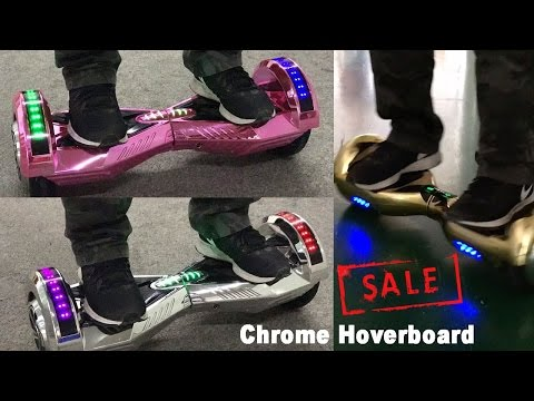 Chrome Hoverboard Preview - Best Hoverboard Sale in 2016