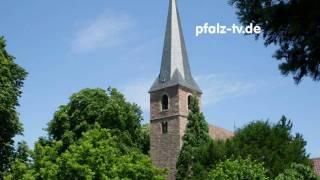 preview picture of video 'Hör Bild - Heimat - 12 Uhr Läuten der Kirche von Gommersheim - Original Audio'