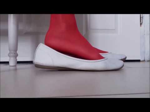Rote Strumpfhose