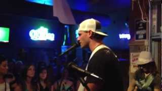 Dirt Road Communion - Chase Rice (7/16/12) LIVE @ Whiskey Jam