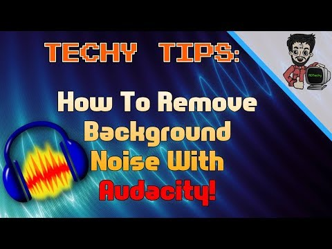 How To Remove Background Noise And Make Your Audio Crisp And Clear for FREE!  Techy Tips   RDTechy