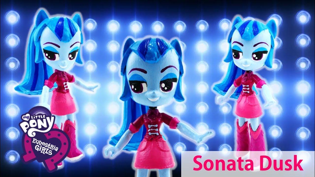 Sonata Dusk Dazzlings My Little Pony Equestria Girls Minis Doll Custom Tutorial