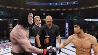 Alpha Vampire Vs. Bruce Lee (EA Sports UFC 2)