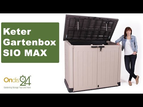 Keter Store It Out Mülltonnenbox MAX - bei Ondis24