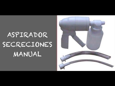Aspirador manual secreciones
