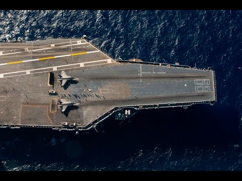 First F-35C Catapult Launch Aboard USS Nimitz