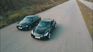 Infiniti (G37)  vs  BMW (335i) !!!  (Баварцы атакуют) !!!